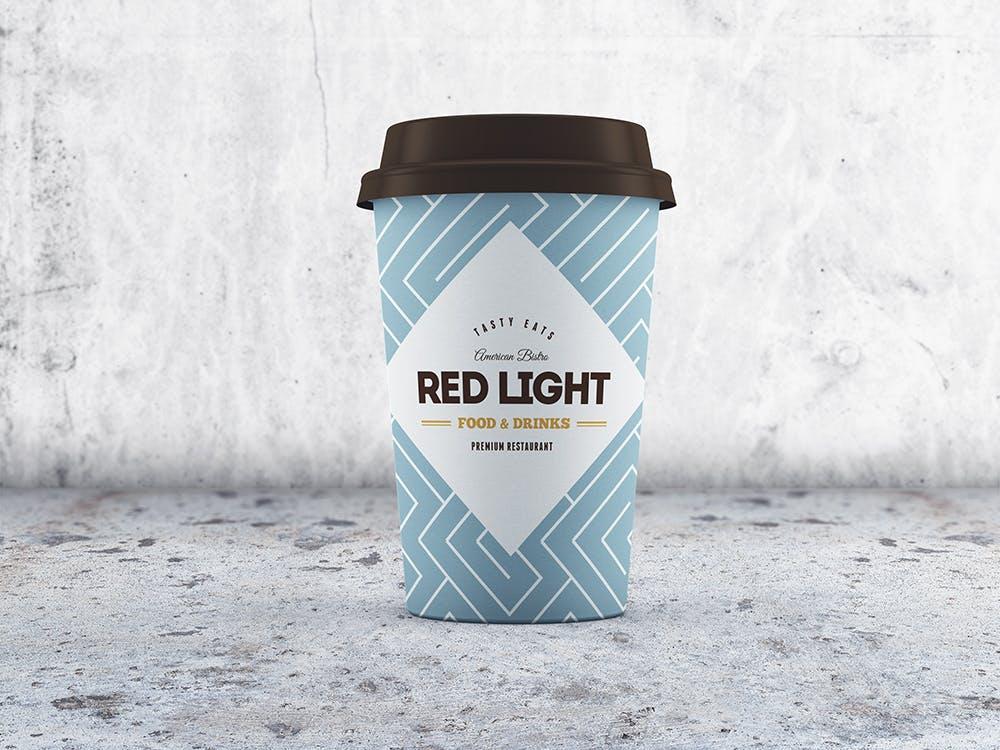 24款多角度一次性外卖咖啡纸杯设计展示样机模板 Coffee Cup MockUp插图(2)