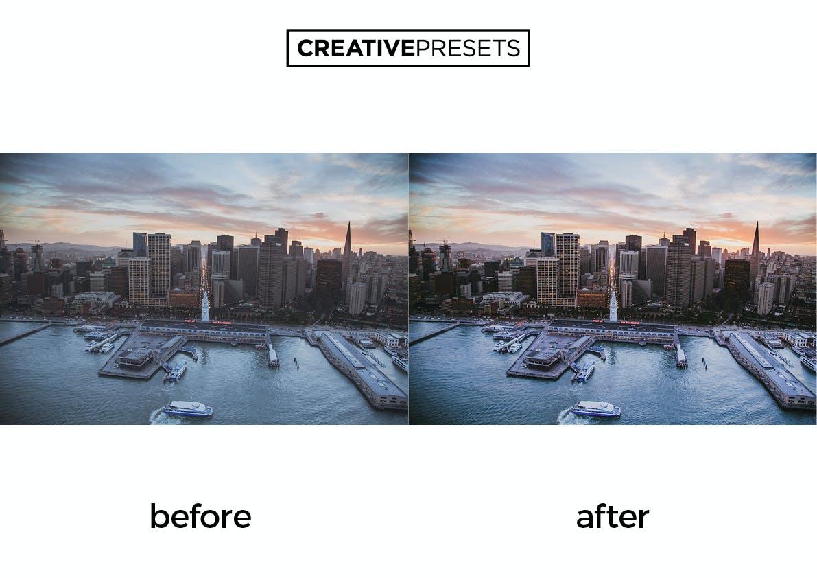 20种电影效果摄影照片调色LR预设 Cinematic Lightroom Presets插图(2)