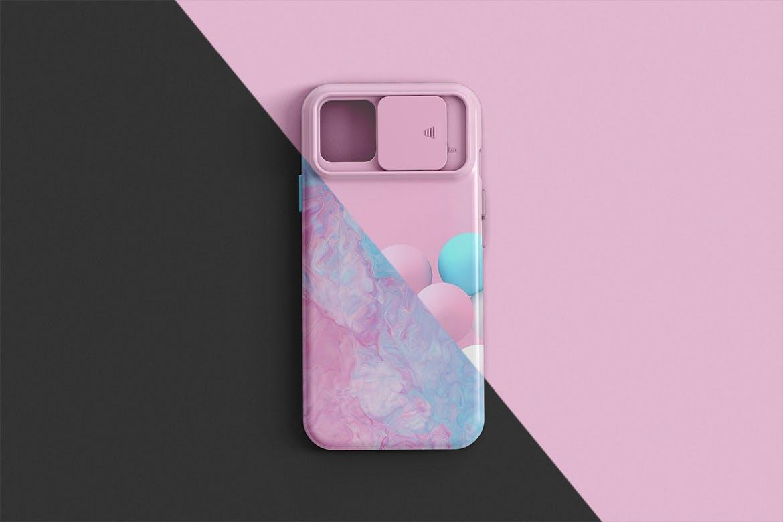 智能手机外壳印花设计展示样机 Phone Case Mockup插图(2)