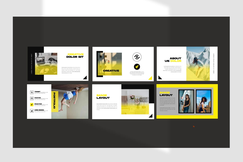 极简主义商务策划书幻灯片设计模板 INVOKER. – URBAN PPTX Business Company插图(2)