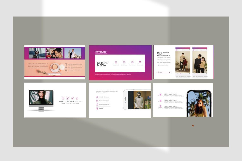 创意多用途商务营销幻灯片设计模板 KETONE – Powepoint Template Business Corporate插图(2)