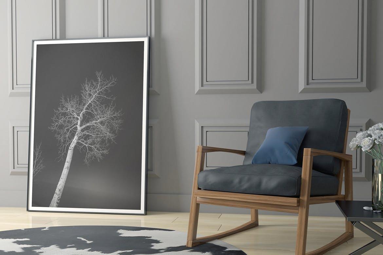6款室内海报艺术品相片展示样机模板 Elegant Scene Mockups插图(2)
