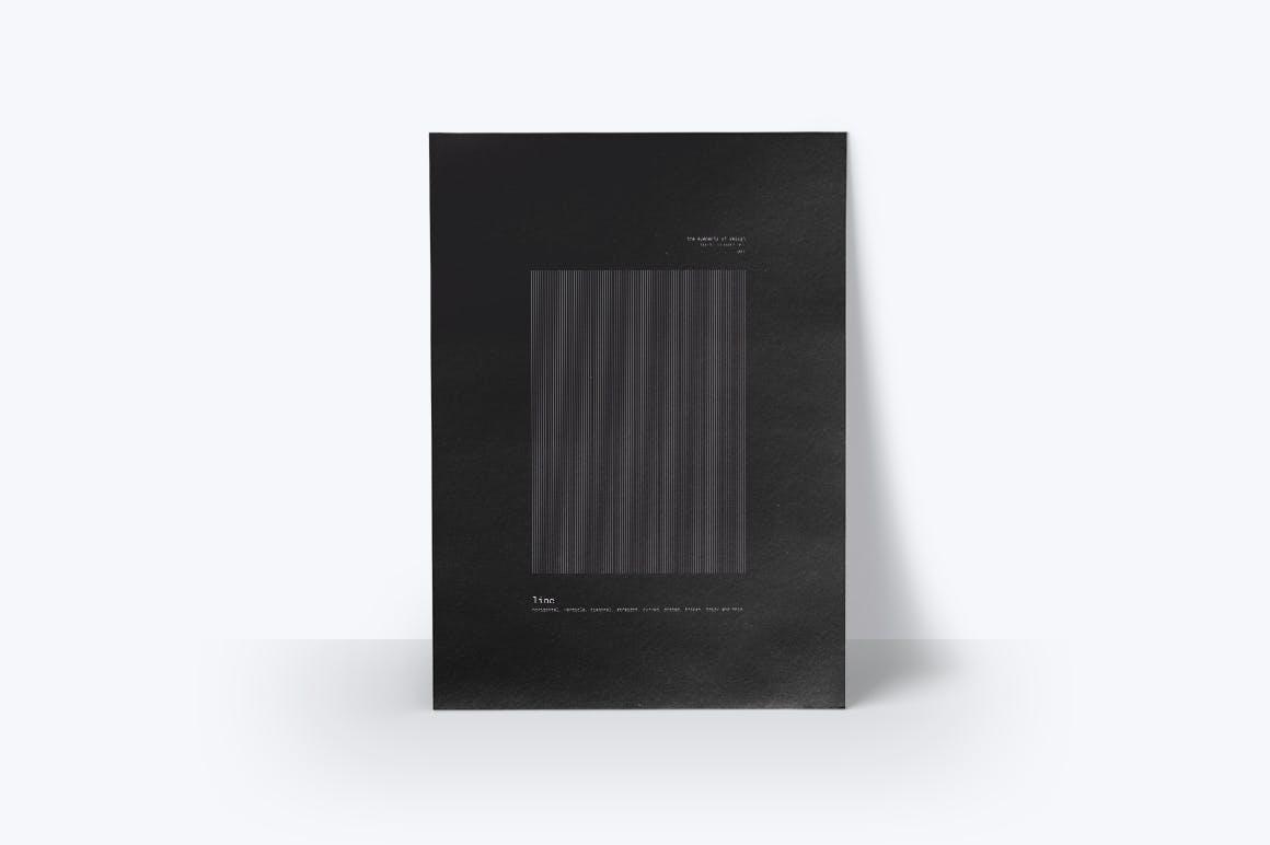 潮流几何图案元素海报设计矢量素材 The Elements Of Design插图(2)