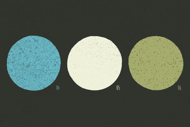 10款复古粗糙斑点背景纹理矢量素材 Vintage Texture插图(2)