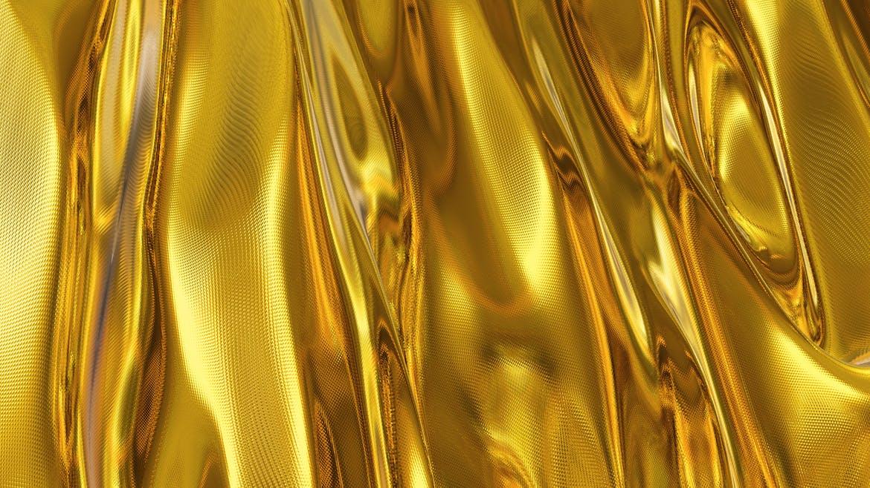 6款高清金色带纹理波浪背景素材 Gold Backgrounds插图(2)
