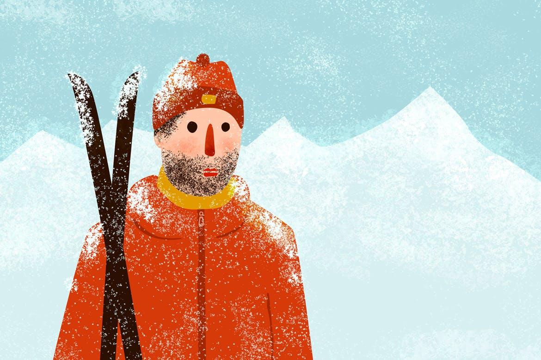30个冬季雪花AI矢量笔刷素材 Snow And Winter Brushes For Adobe Illustrator插图(2)