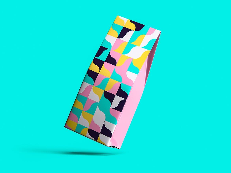 70种彩色几何艺术图案背景素材包 70 Geometric Colorful Art Patterns Pack插图(2)