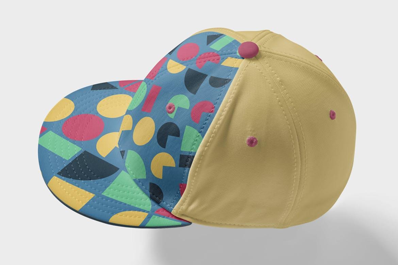 135复古多彩几何艺术图案矢量背景素材 135 Geometric Colorful Art Retro Patterns 001插图(2)