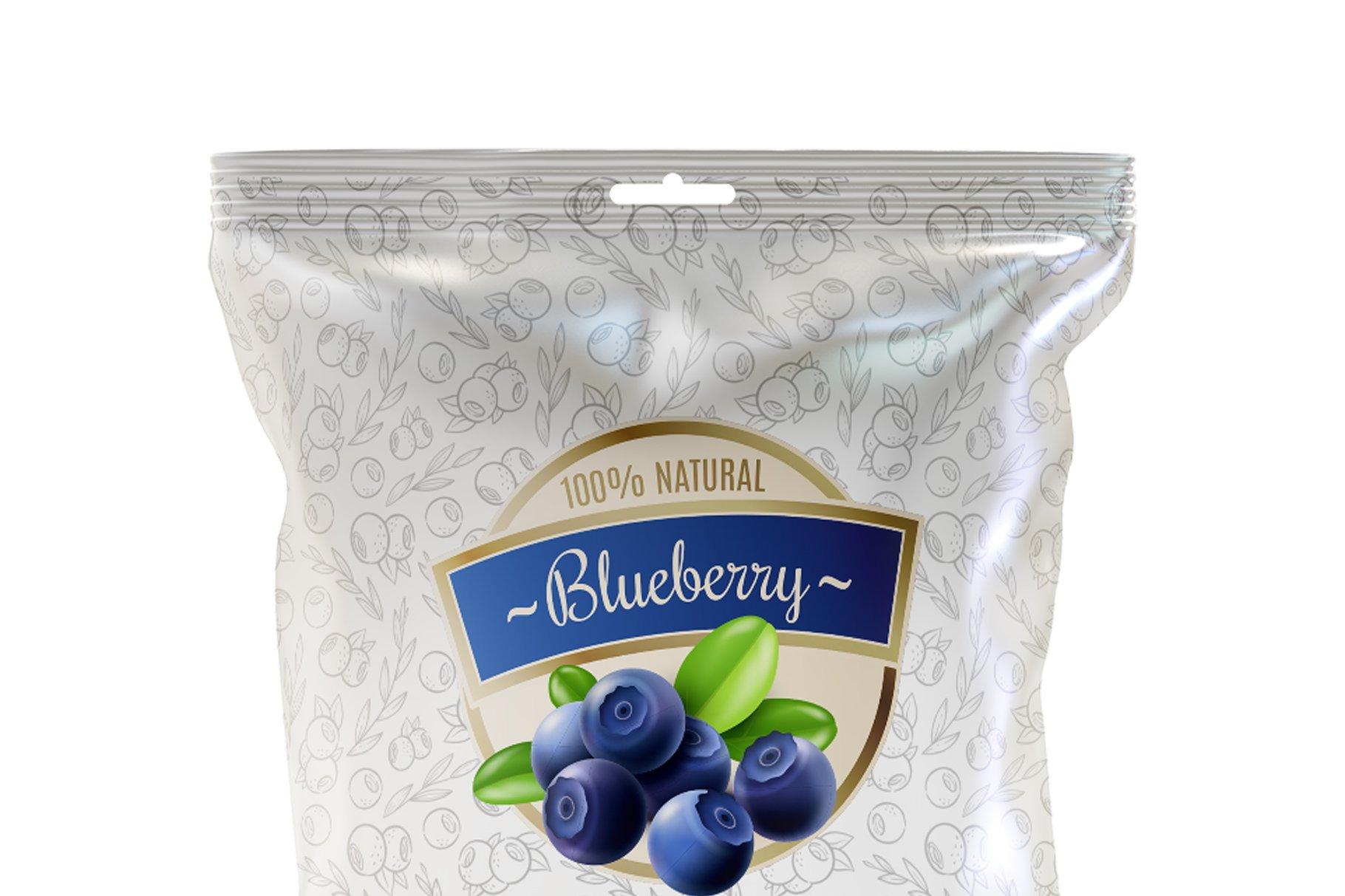 食品小零食塑料袋包装设计展示样机 Snack Mockup插图(3)