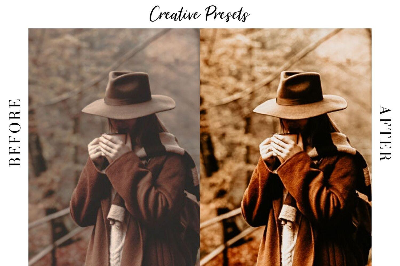 秋季主题暖色调滤镜摄影照片后期调色LR预设 Autumn Lightroom Mobile Presets插图(3)