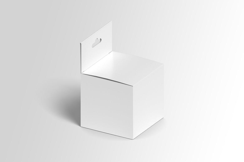 方形产品包装纸盒设计展示样机模板 Square Box Mockup Packaging插图(3)