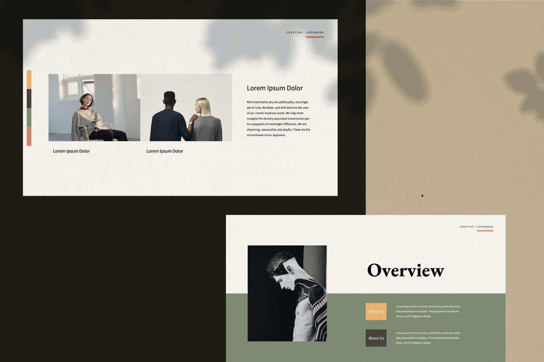 创意极简商业策划书演示文稿设计模板 Staywild – Creative Minimal Powerpoint插图(3)