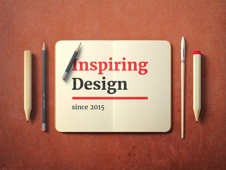 简约徽标LOGO设计展示样机 Simple Logo Mockup插图(3)