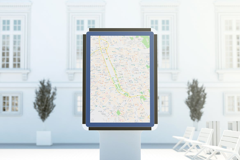 城市灯箱广告牌设计展示样机 City Light Board Mockup插图(3)
