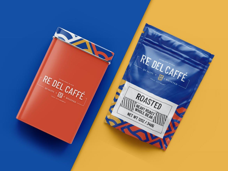 高端咖啡品牌VI设计展示样机模板 Coffee Branding Mockup Pack插图(3)