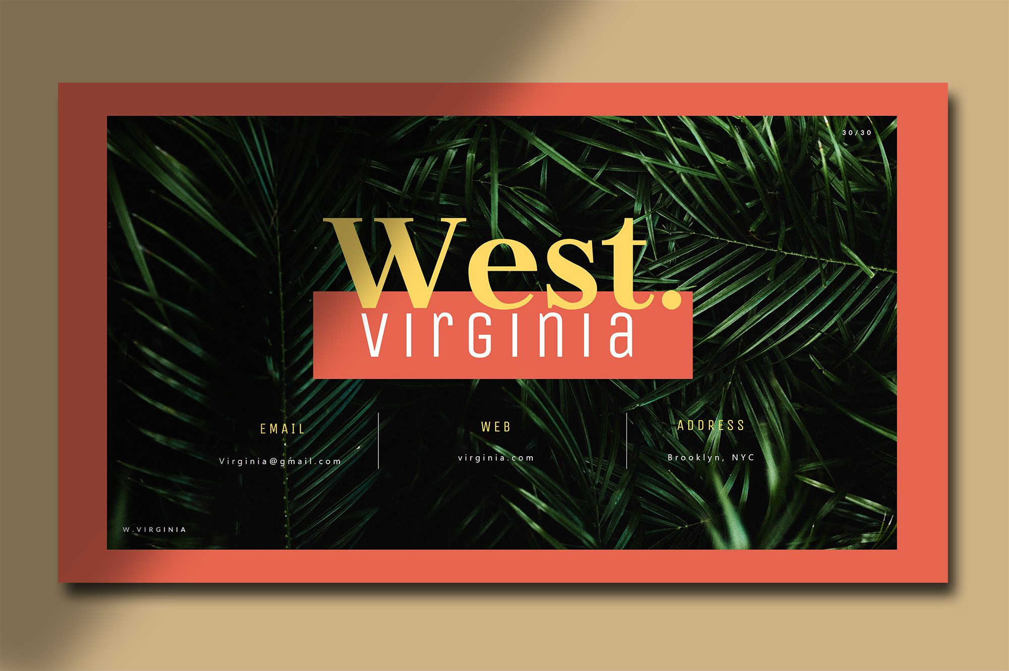 时尚产品营销策划书PPT幻灯片模板 West Virginia Presentation – Powerpoint插图(5)