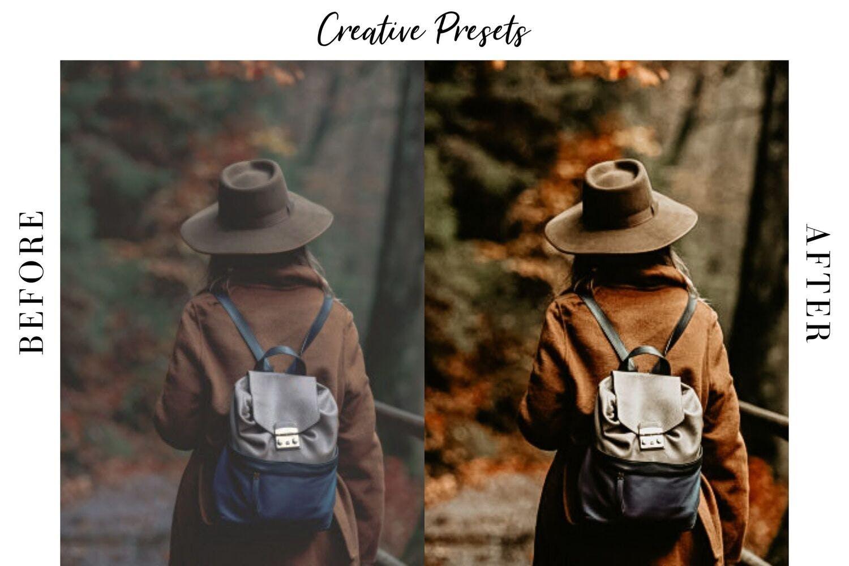 秋季主题暖色调滤镜摄影照片后期调色LR预设 Autumn Lightroom Mobile Presets插图(4)