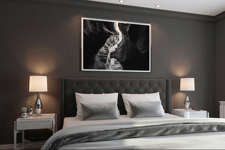 6款室内海报艺术品相片展示样机模板 Elegant Scene Mockups插图(4)