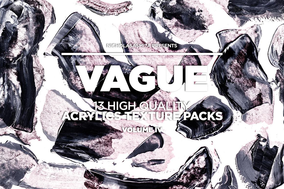 13款高清抽象丙烯酸涂料背景纹理图片素材 Vague IV: 13 Acrylics Textures插图(10)