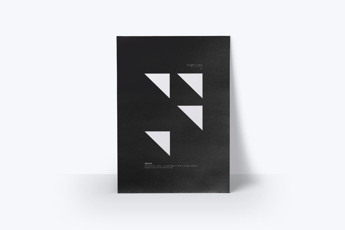 潮流几何图案元素海报设计矢量素材 The Elements Of Design插图(4)