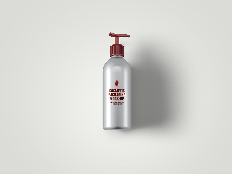 化妆品挤压瓶包装盒设计展示样机 Cosmetic Packaging Mockup插图(4)