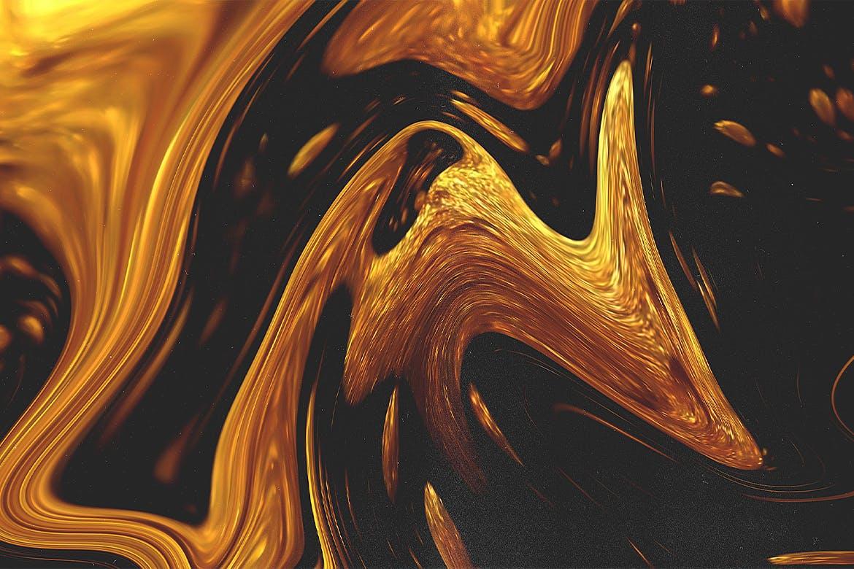 11款高清抽象丙烯酸流体背景纹理图片素材 11 Liquid Textures插图(4)