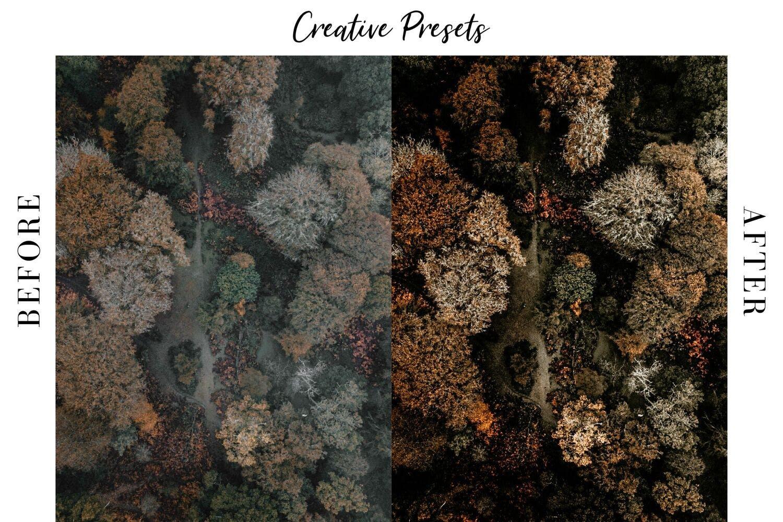 秋季主题暖色调滤镜摄影照片后期调色LR预设 Autumn Lightroom Mobile Presets插图(5)