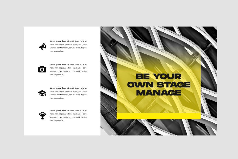 极简主义商务策划书幻灯片设计模板 INVOKER. – URBAN PPTX Business Company插图(5)