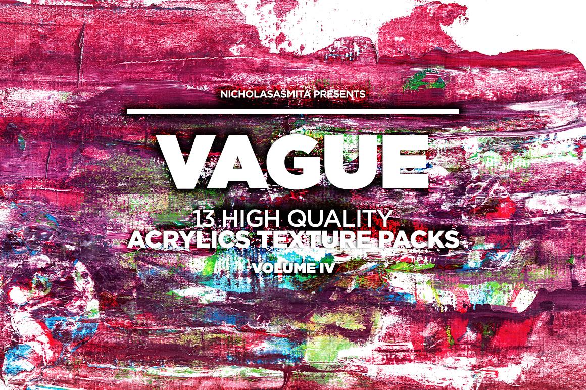 13款高清抽象丙烯酸涂料背景纹理图片素材 Vague IV: 13 Acrylics Textures插图(9)