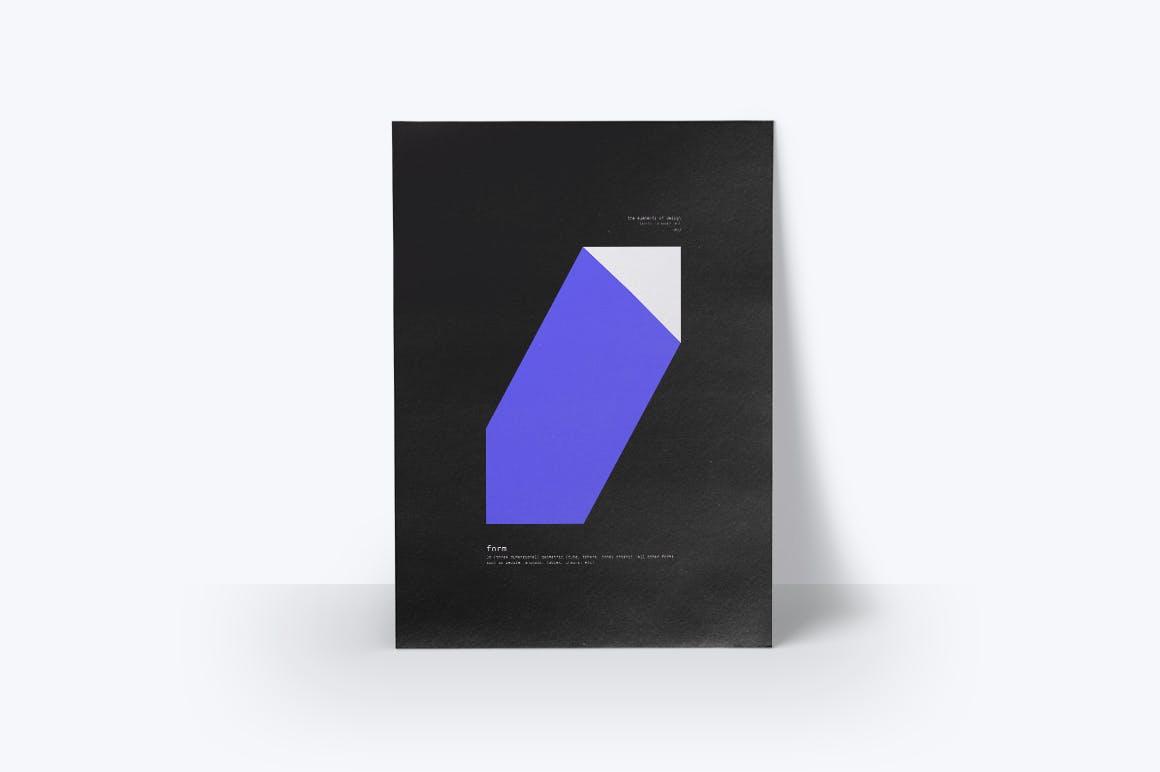 潮流几何图案元素海报设计矢量素材 The Elements Of Design插图(5)