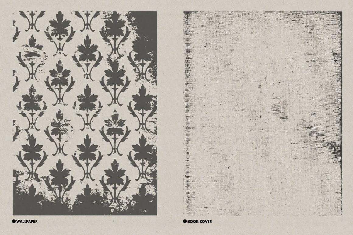 30款复古矢量插图背景纹理素材 Vintage Textures Pack插图(5)