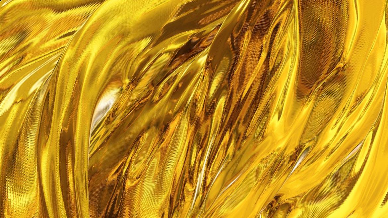 6款高清金色带纹理波浪背景素材 Gold Backgrounds插图(5)