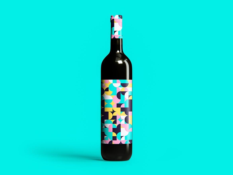70种彩色几何艺术图案背景素材包 70 Geometric Colorful Art Patterns Pack插图(5)