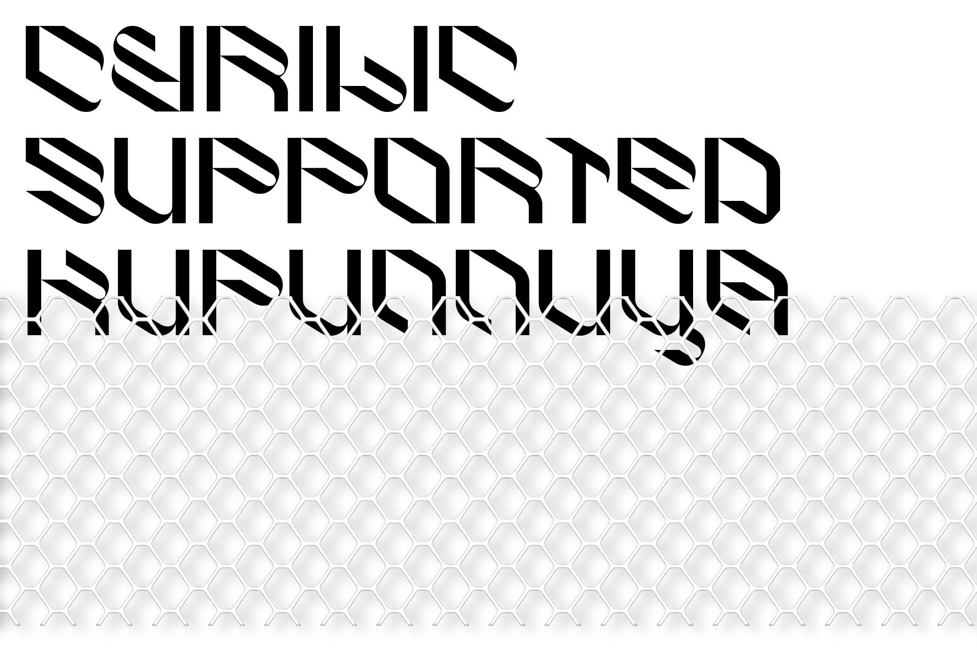 倾斜对角线英文字体下载 Eskos Typeface插图(5)