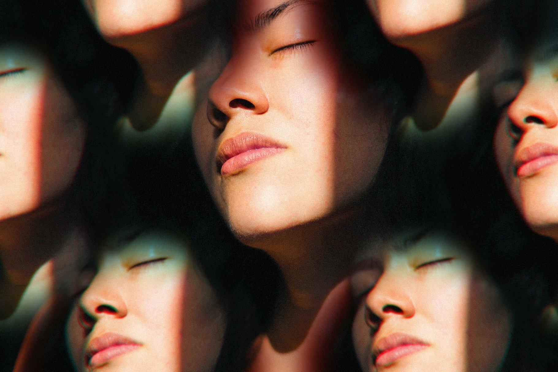 梦幻抽象艺术万花筒棱镜玻璃反射特效滤镜PS样式模板 Prizm – Lens & Prism Distortions插图6