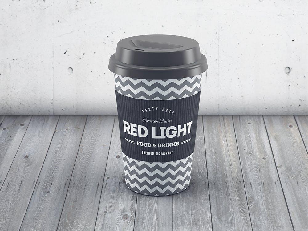 24款多角度一次性外卖咖啡纸杯设计展示样机模板 Coffee Cup MockUp插图(6)
