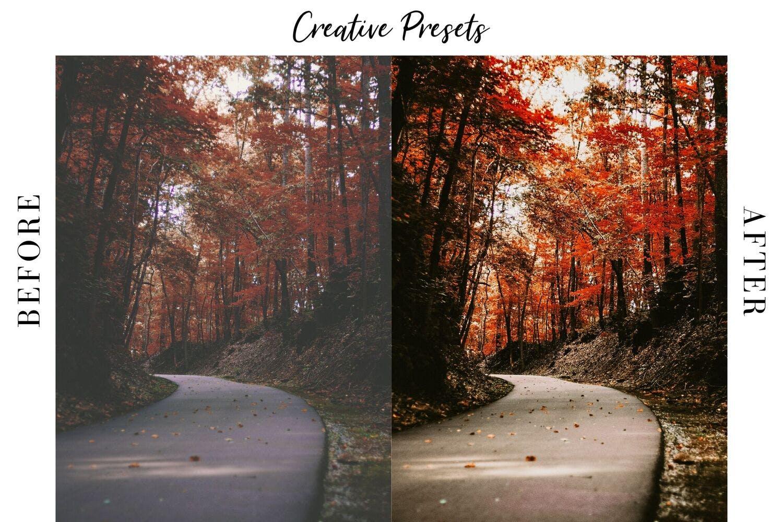 秋季主题暖色调滤镜摄影照片后期调色LR预设 Autumn Lightroom Mobile Presets插图(6)