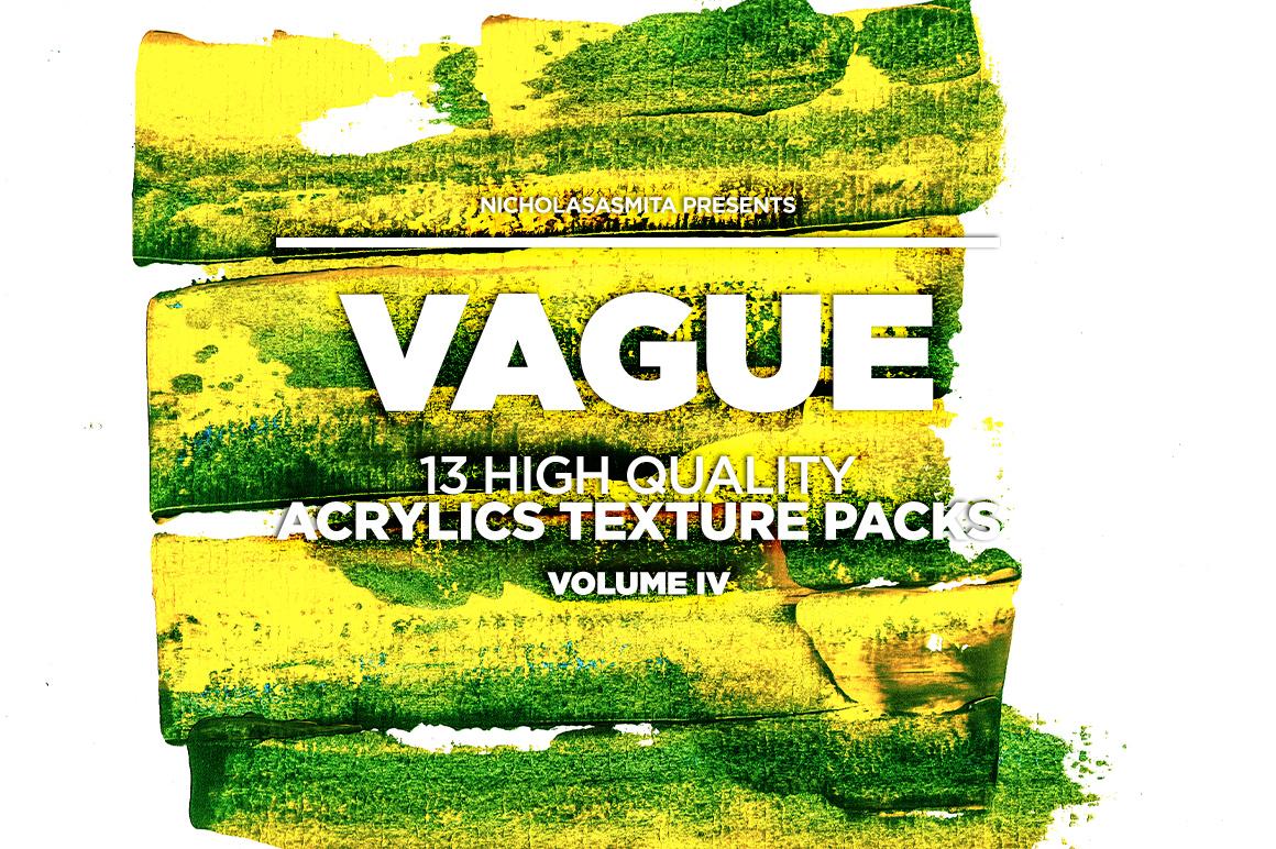 13款高清抽象丙烯酸涂料背景纹理图片素材 Vague IV: 13 Acrylics Textures插图(8)