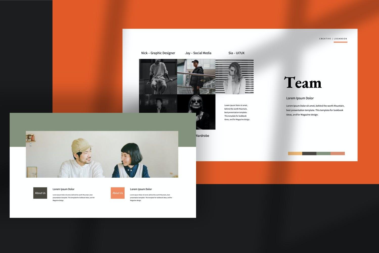 创意极简商业策划书演示文稿设计模板 Staywild – Creative Minimal Powerpoint插图(6)