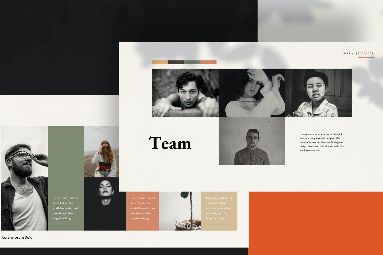 创意极简商业策划书演示文稿设计模板 Staywild – Creative Minimal Powerpoint插图(7)