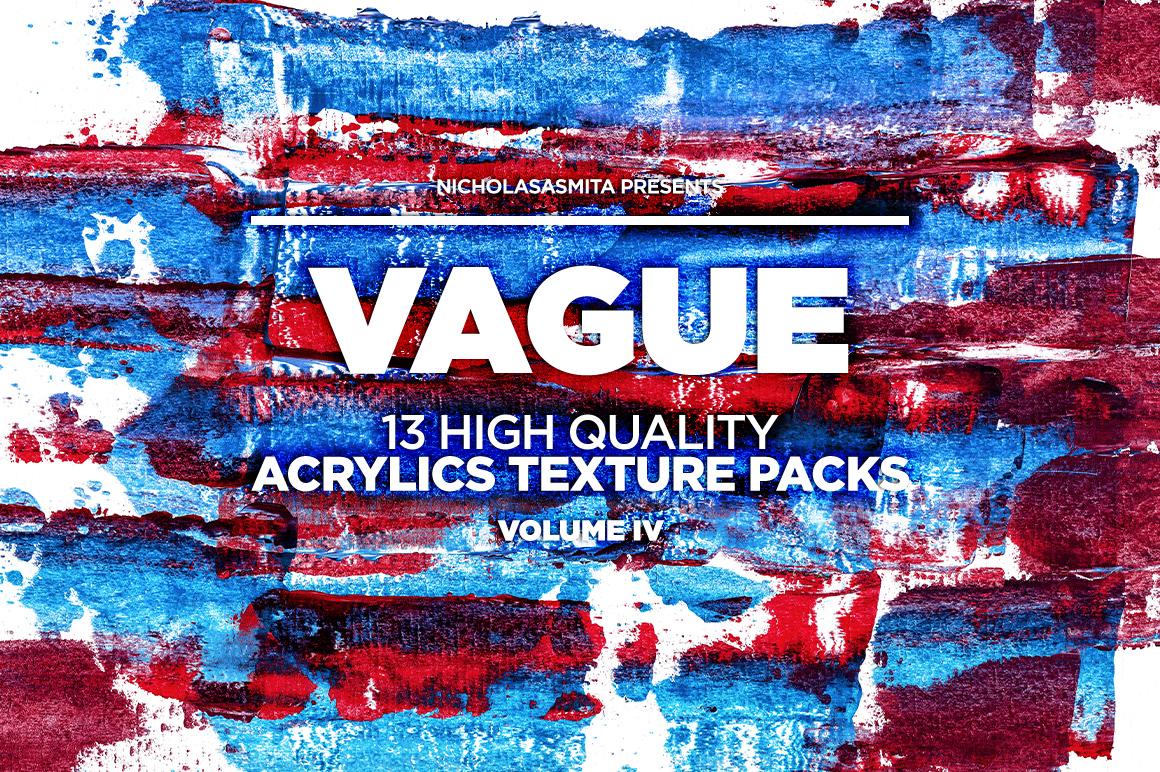 13款高清抽象丙烯酸涂料背景纹理图片素材 Vague IV: 13 Acrylics Textures插图(7)