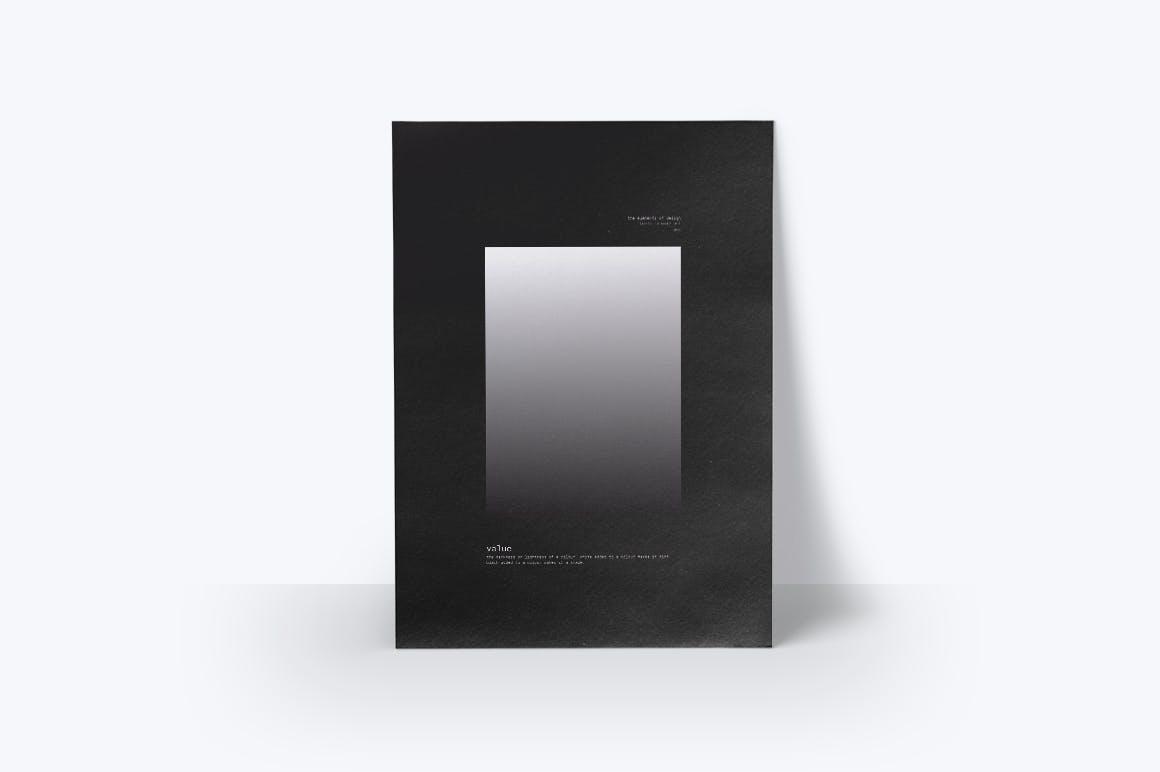 潮流几何图案元素海报设计矢量素材 The Elements Of Design插图(8)