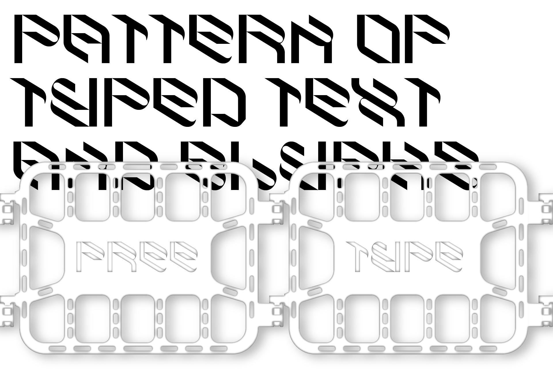 倾斜对角线英文字体下载 Eskos Typeface插图(8)