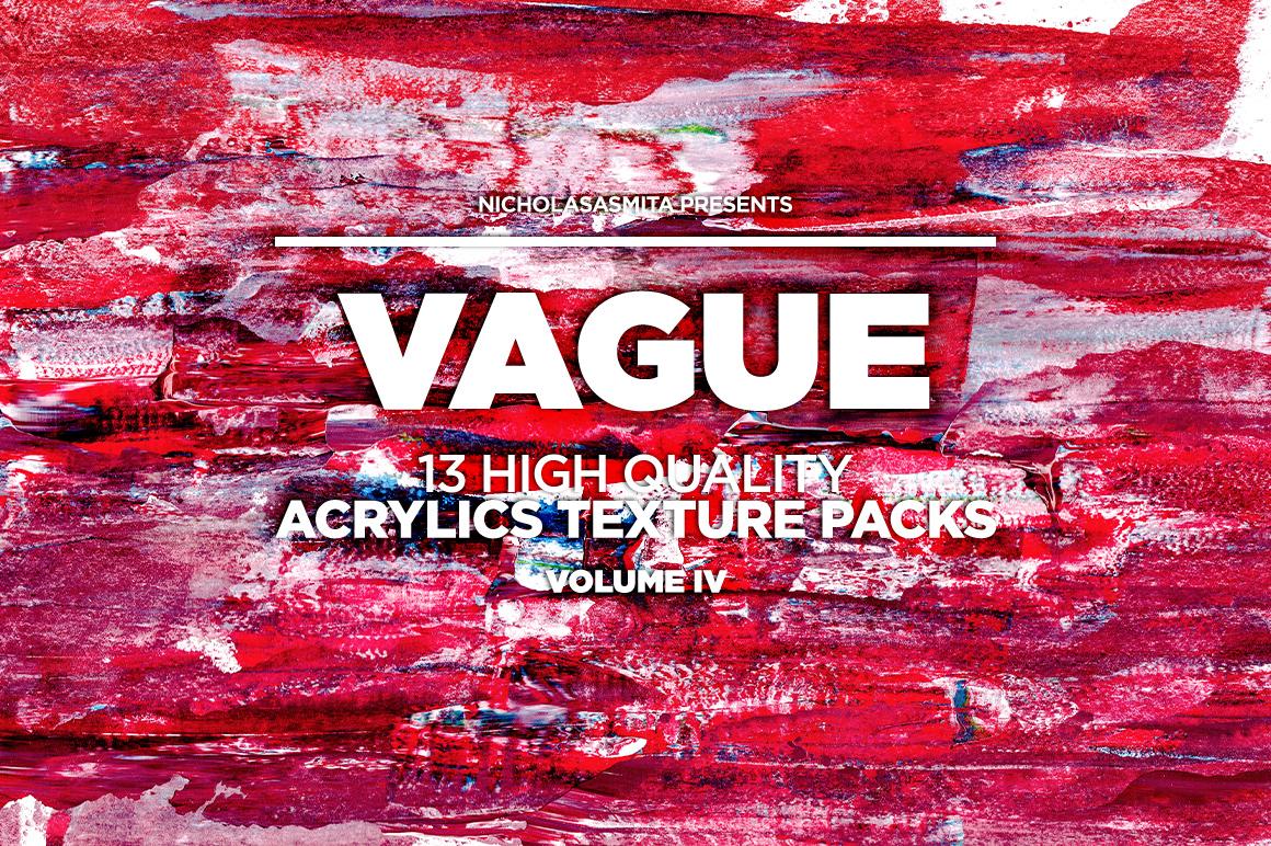 13款高清抽象丙烯酸涂料背景纹理图片素材 Vague IV: 13 Acrylics Textures插图(6)