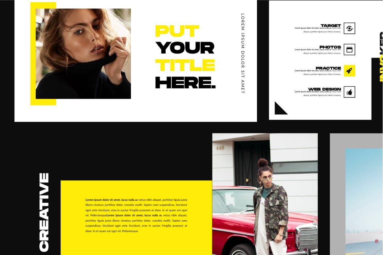 极简主义商务策划书幻灯片设计模板 INVOKER. – URBAN PPTX Business Company插图(7)