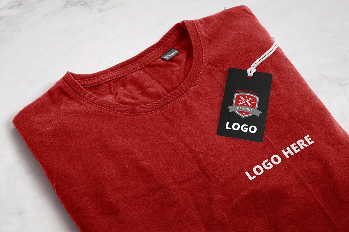 9款品牌LOGO徽标设计智能贴图样机模板 Branding & Logo Mockup插图(8)