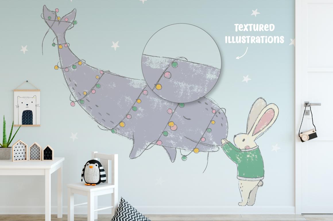 180多个冬季圣诞节主题矢量图案素材 Northern Winter插图(5)