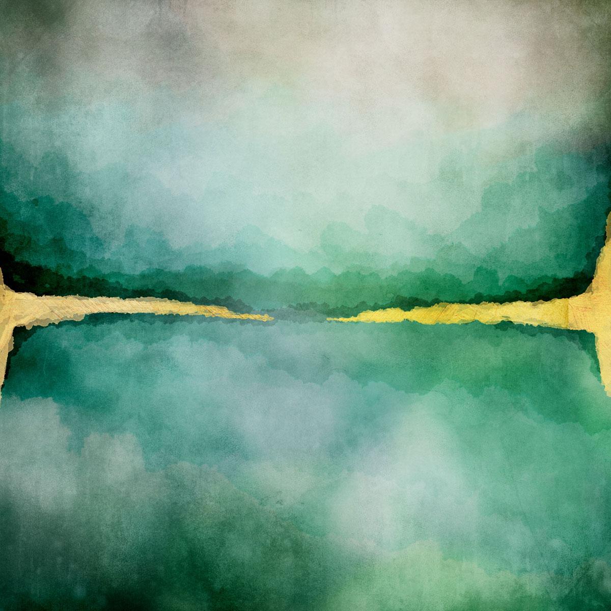 12张高清水彩金色质感艺术海报设计纸张背景纹理图片素材 Watercolor Texture Papers插图(12)