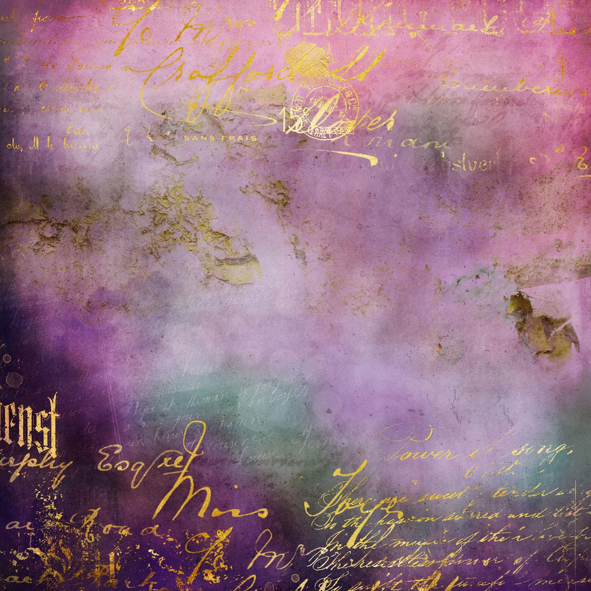 12张高清水彩金色质感艺术海报设计纸张背景纹理图片素材 Watercolor Texture Papers插图(4)
