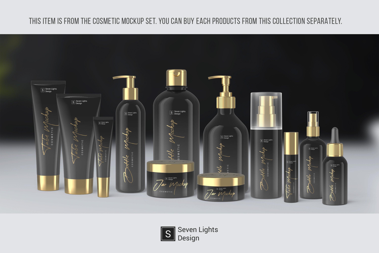 13款化妆品包装瓶设计展示样机模板 Cosmetic Mockup Set插图(9)